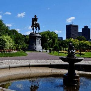 Boston Public Garden Boston MA USA