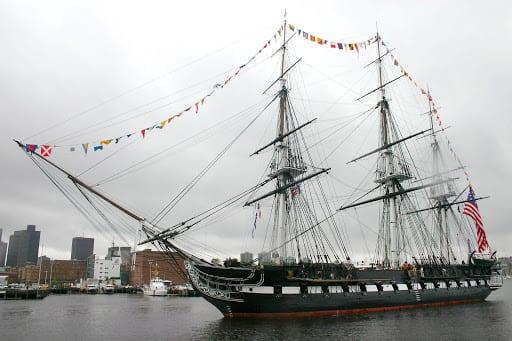 USS Constitution Boston MA USA