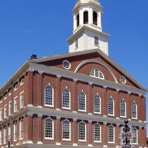 Faneuil Hall in Boston MA USA